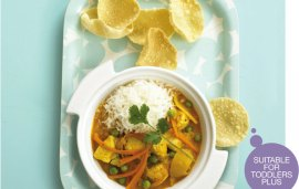 Food For Kids | Fruity Chicken Korma By Annabel Karmel