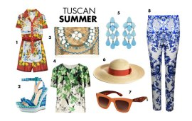 Trend To Try | Tuscan Summer