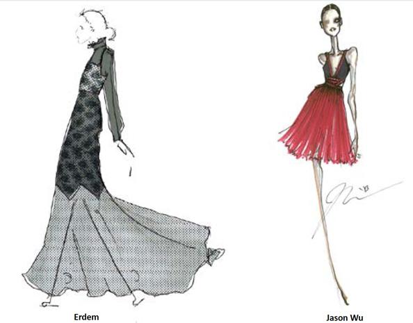 famous fashion designer drawings wwwpixsharkcom
