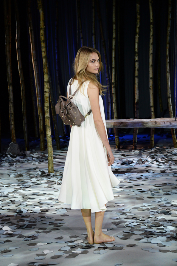 The Mulberry Cara Delevingne Collection Launches At London Fashion Week 46e16ce007512