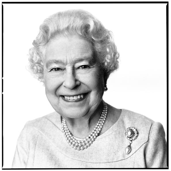 Birthday Portrait Of Queen Elizabeth II By David Bailey