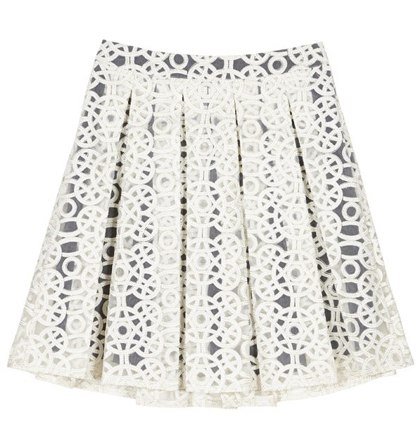 Pleated skirt Dhs370 asos.com