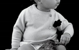 North West Breaks Into Modelling Aged 13 Months