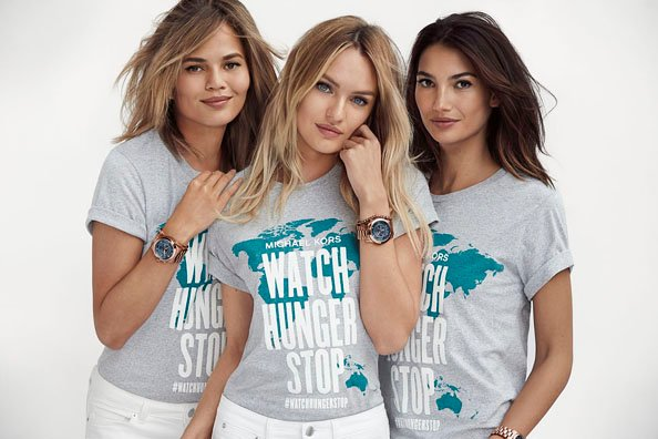 fce5b1f45405 Michael Kors And Halle Berry Support Watch Hunger Stop