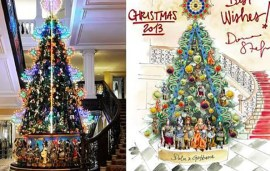 Dolce And Gabbana To Design Claridge's Christmas Tree