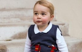 Prince George Celebrates His First Christmas