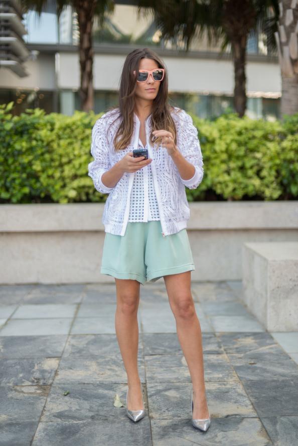EW wearing Carmel