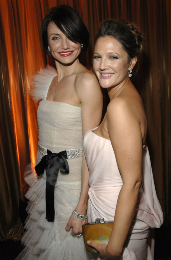 Cameron Diaz and BFF Drew Barrymore