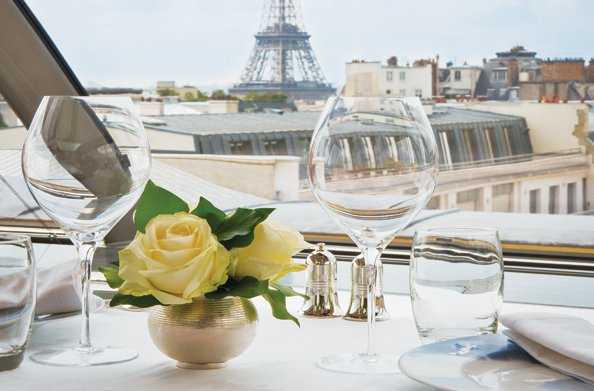 Perhaps club together with friends to pay for an incredible experience like dinner for two at the Peninsula in Paris