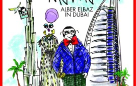 EMIRATES WOMAN MAY 2015 | MEET COVER STAR ALBER ELBAZ & WHAT'S INSIDE