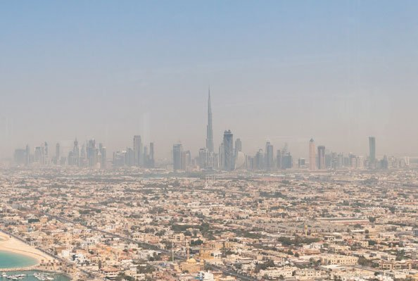 UAE named polluted region world