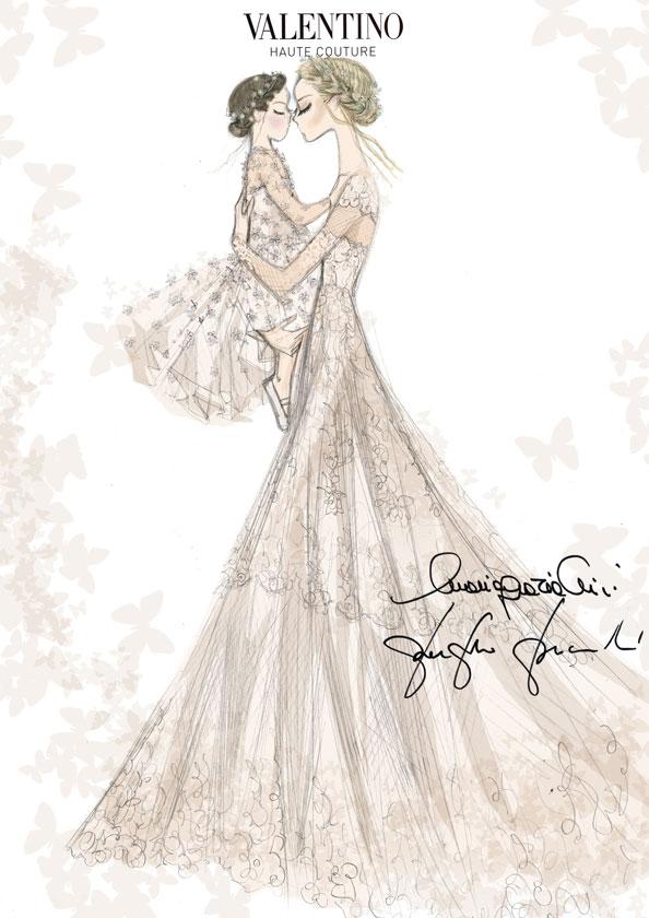 Wedding-Dress-Frida-Giannini-+-Daughter