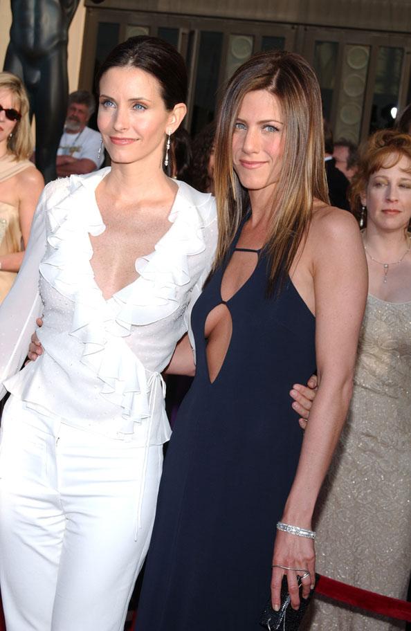 Jennifer Aniston and Courtney Cox, International Friendship Day