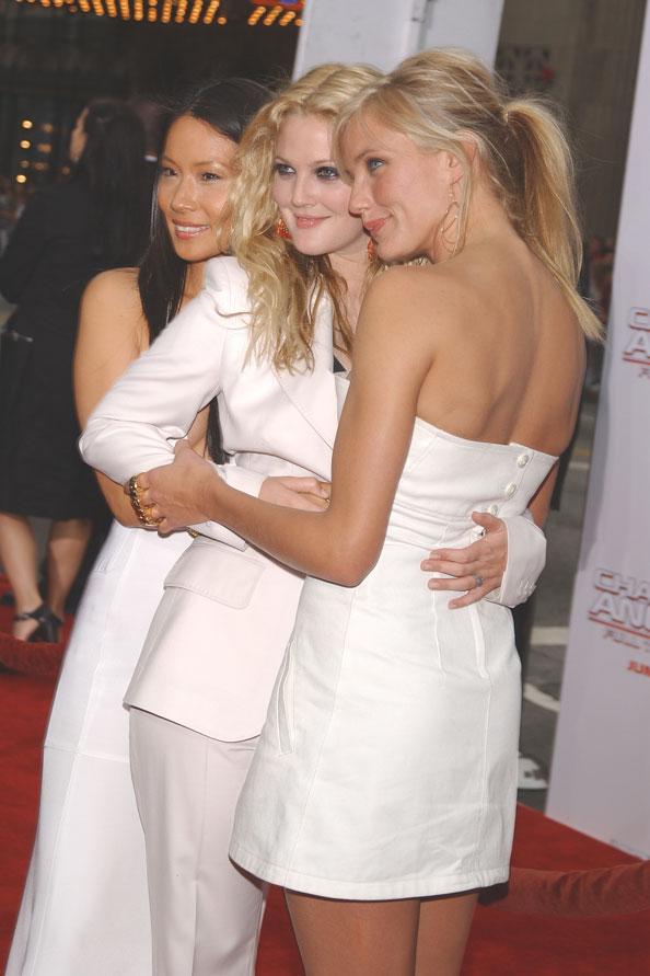Drew Barrymore, Lucy Liu and Cameron Diaz, International Friendship Day
