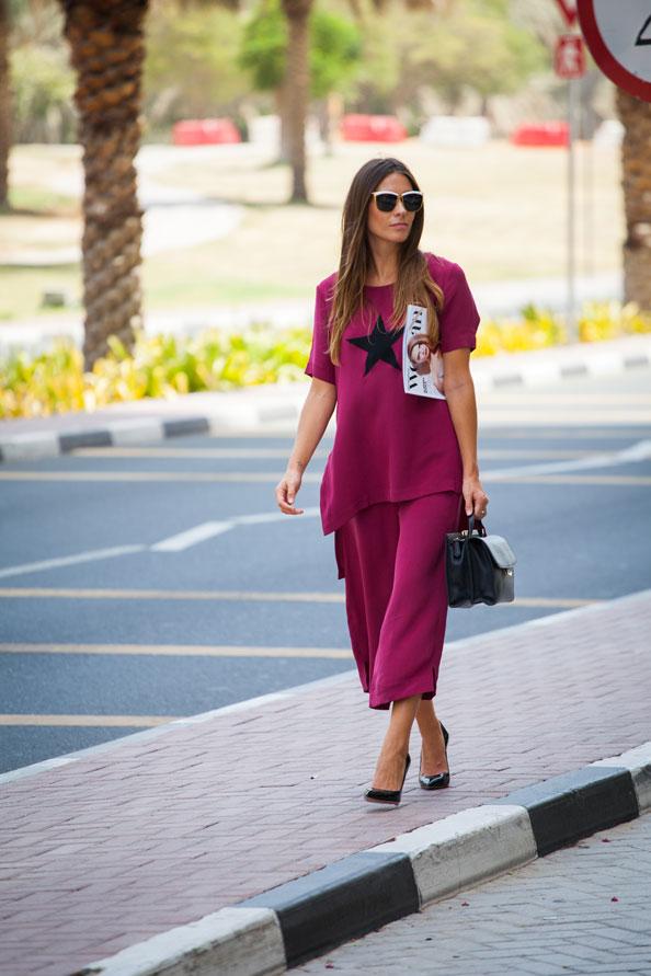 Carmel EW wearing