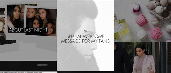 Kylie Jenner and Kim Kardashian Launch Website