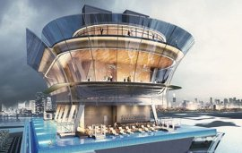 World's Highest Swimming Pool Will Be In Dubai