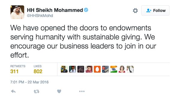 Sheikh Mohammed endowment