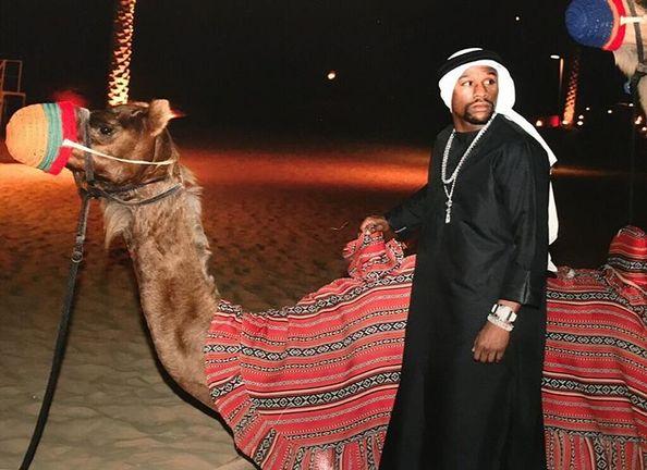 Floyd Mayweather Dubai