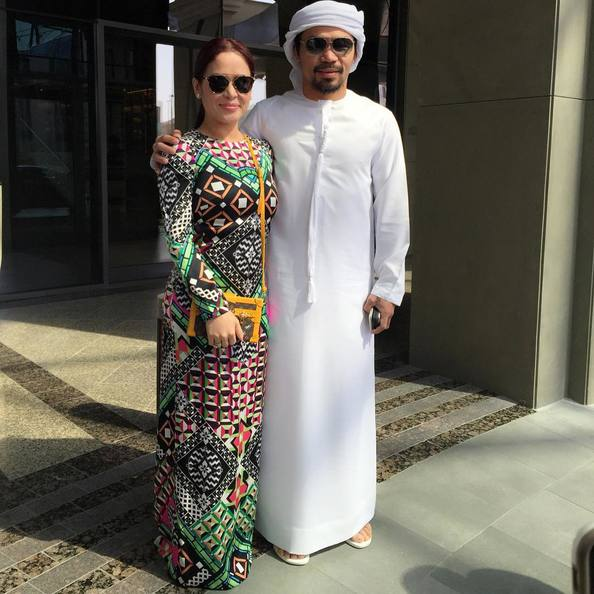 Manny Pacquiao Dubai