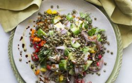 Lentil Salad Recipe From The Iraqi Kitchen
