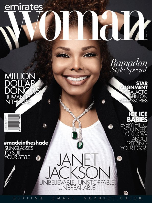 EW June Cover Janet Jackson