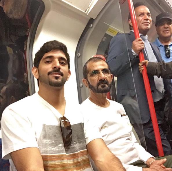 0 sheikh hamdan shiekh mohammed london underground