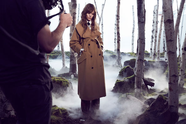 Exclusive Interview: Freja Beha Erichsen The Face Of H&M Studio