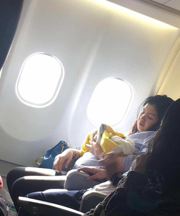 woman gives birth on cebu pacific