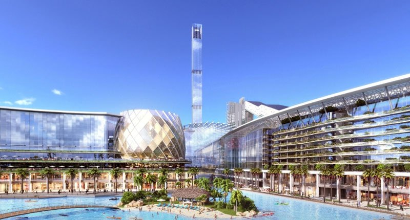Meydan One A New Dubai Mall With Retractable Roof And Ski Slope