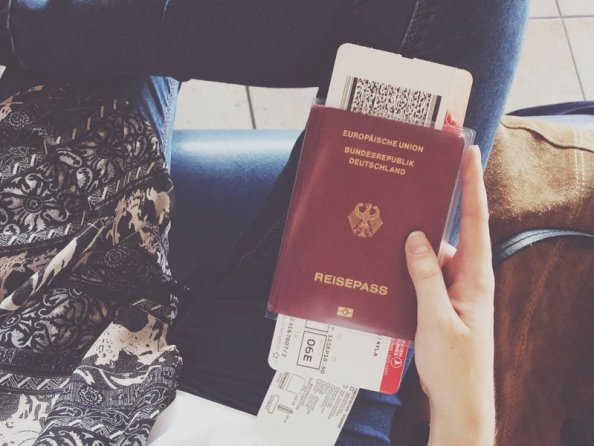 passport boarding pass