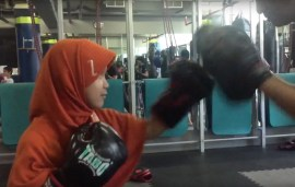 Watch This Nine-Year-Old Girl Out-Box Her Dubai Trainer