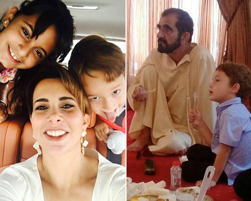 8 Times Sheikh Mohammed Princess Haya Gave Us Family Goals