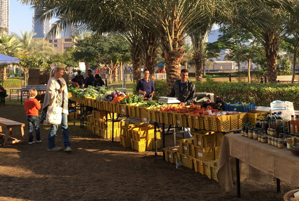 The Farmers Market on the Terrace