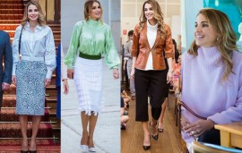 Queen Rania's Australian Tour Wardrobe Is Seriously Sensational