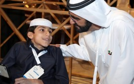 Sheikh Mohammed Urges The Younger Generation To Use Social Media For Good