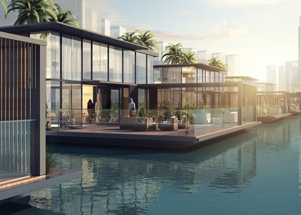 These incredible floating homes will soon be in dubai canal - The floating homes of dubai luxury redefined ...