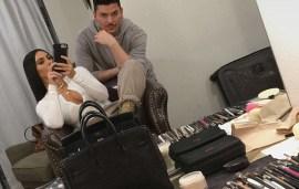 Kim Kardashian Preps For Her Dubai Visit As Arrests Are Made Over Paris Robbery