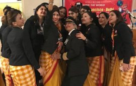 Air India's All-Female Crew Makes The History Books With Round-The-World Trip