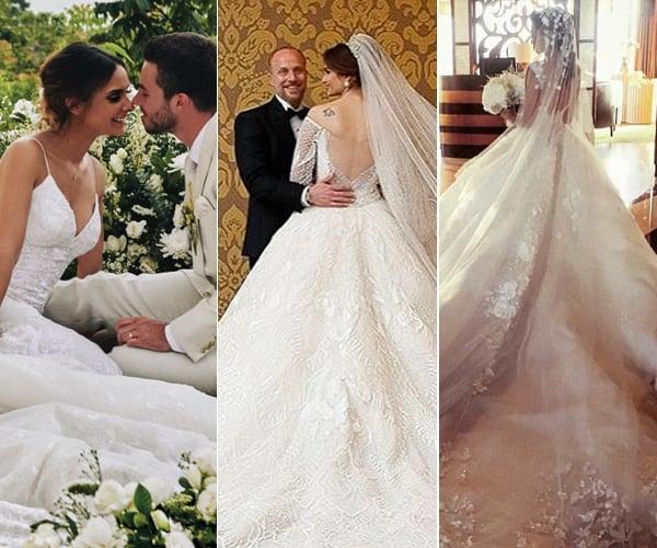 dubai designer michael cinco s wedding dresses are seriously out