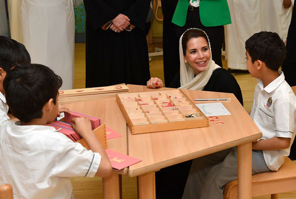 Princess Haya Makes Local Kids Day With A Schoolroom Visit
