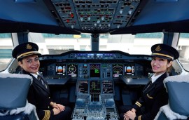 Meet The Female Pilots Breaking Barriers At This Dubai-Based Airline