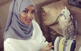 This Superstar Hijabi Model Just Jetted Into The UAE… And Is Already Making Local Friends