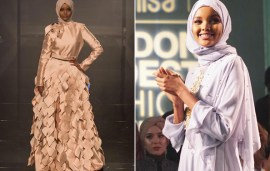 This Superstar Hijabi Model Just Slayed At London's Modest Fashion Week