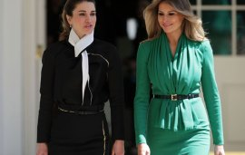 What Happened When Queen Rania Met First Lady Melania Trump