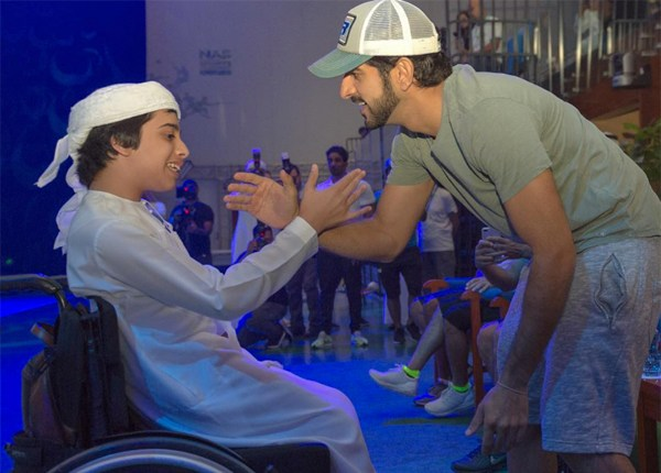 Sheikh Hamdan Shared A Special Moment With This Determined