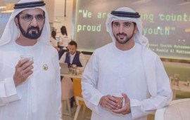 Sheikh Mohammed And Sheikh Hamdan Just Hit Up This Dubai Cafe For Coffee