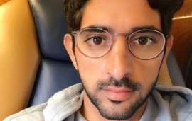 Sheikh Hamdan Shows Off His Sporting Prowess (And New Specs)
