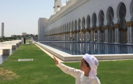 Little Sheikh Zayed Gets A Lesson In UAE History Outside The Classroom