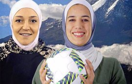 Two Jordanian Sportswomen Just Took Part In A Record-Breaking Football Match